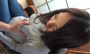 Nozomi nishiyama sparying breast milk