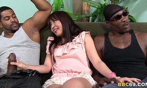 Marica hase anal dp with dark ramrods