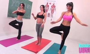 Kendra longing teaches yoga