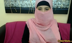 Real shy arab angels stripped merely on cybercam - redcam99.com