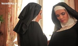 Sexual healing with 2 catholic nuns