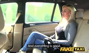 Fake taxi large breasts and a great curvy body