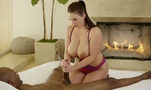Blacked megan rains 1st experience with bbc part two
