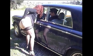 Jessica rizzo drilled in the booty by a rolls driver
