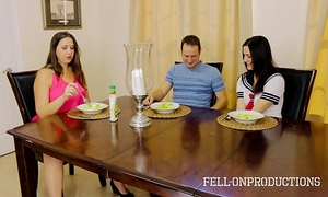 [taboo passions] sister copulates brother whilst mama watches addie juniper & madisin