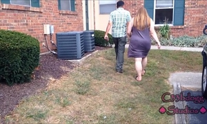 Busted neighbor's white wife catches me recording her c33bdogg