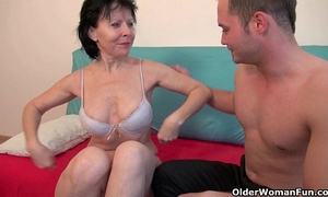 Sex with grandma is so much greater quantity pleasure