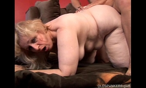 Anne is a large gorgeous aged bbw with pleasing big zeppelins