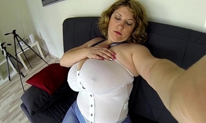 Girl dildos her taut bawdy cleft (pov)
