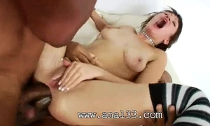 Brutal dark hole group-sex of arsehole acrobat