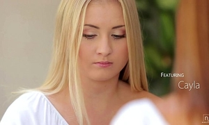 Nubile films - lesbo longing makes incredible orgasms