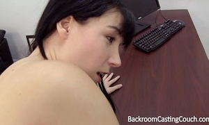 Young mama assfuck and creampie casting