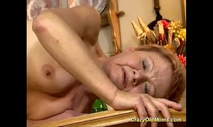 Older playgirl acquires hard drilled