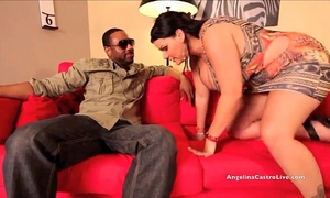Big titted angelina castro pounded hard by large dark 10-Pounder!