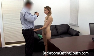 Young stripper wazoo screwed and creampie