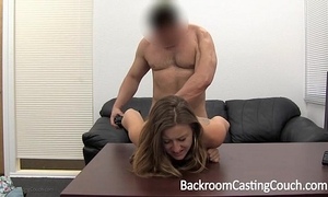 Cheating girlfriend fucked right into an asshole and facialed