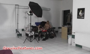 Hot czech ladies in backstage video