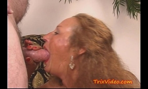 My lustful granny acquires a dp