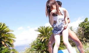 Japanese perverted outdoor sex