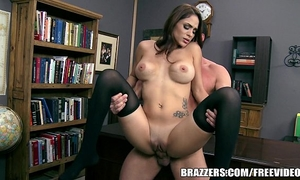 Brazzers - large love melons and posted notes