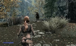 Skyrim test movie scene