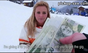 Amateur nathaly teges gangbanged with pervert dude for cash