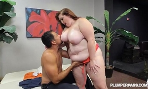 New bbw dilettante curious clover copulates for 1st time
