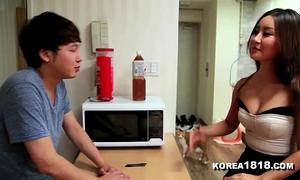 Korea1818.com - fortunate korean virgin acquires to fuck sexy korean chick!