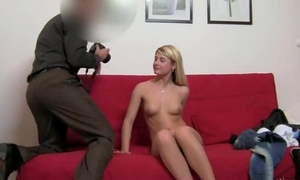 Teenage white wife havingsex with fake agent