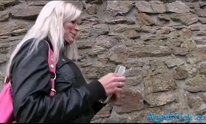 Amateur large love melons radka drilled and jizzed on for some money