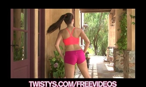 Treat of the year taylor vixen shows off her large natural love bubbles