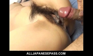 Japanese milf maria asagiri curly vagina group-fucked
