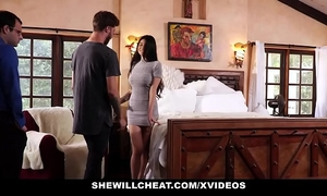 Shewillcheat - unhappy white wife copulates her boytoy in front of spouse