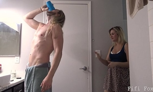 Mom gives son viagra - fifi foxx and weenie ninja