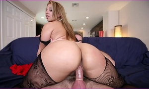 Bangbros - latin babe named gia shows off her awesome large arse & large love bubbles