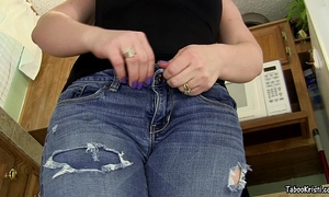 Smell your sister's charming anus brother - taboo milf perverted kristi