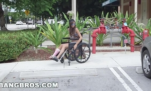 Bangbros - diminutive kimberly costa in wheelchair acquires drilled (bb13600)