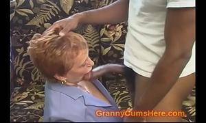 School teacher granny receives drilled