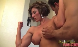 Female bodybuilder mistresse amazon acquire worshiped