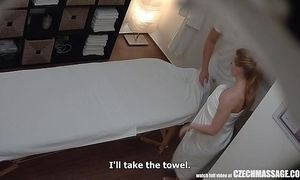Busty married teacher receives massage of her life