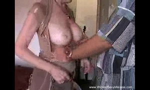 Creampie for mama from stepson