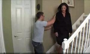Mom copulates drunken son