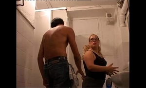 Chunky blond bullied and humiliated at work!